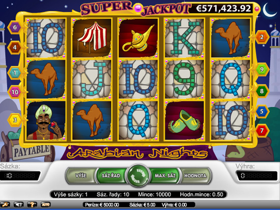 Arabian Nights - 5-Slots