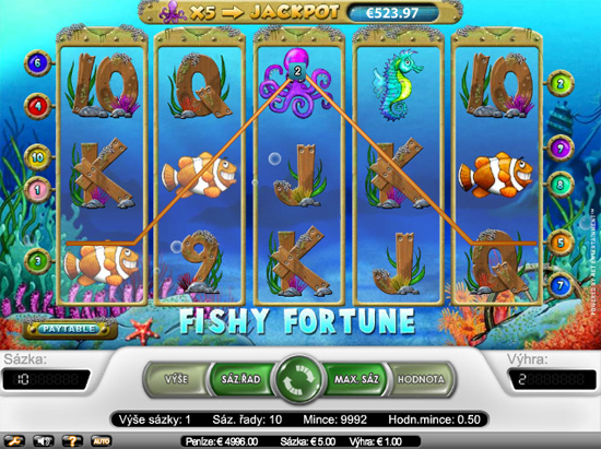Fishy Fortune - 5-Slots