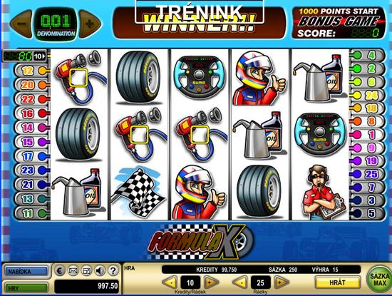 Formula X - 5-Slots