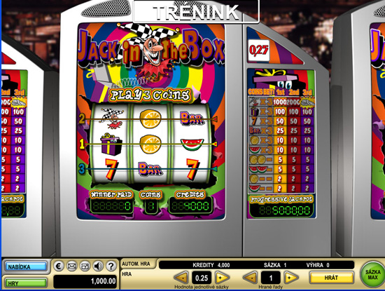Jack in the Box - 3-Slots