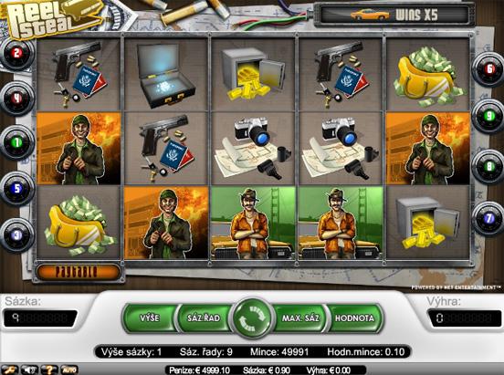 The Reel Steal - 5-Slots