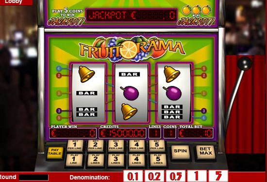 Fruitorama - 3-Slots