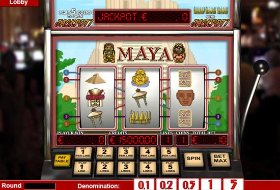 maya 3 slot