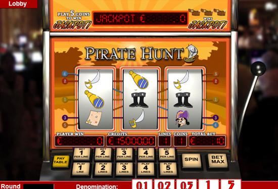 Pirata Hunt - 3-Slots