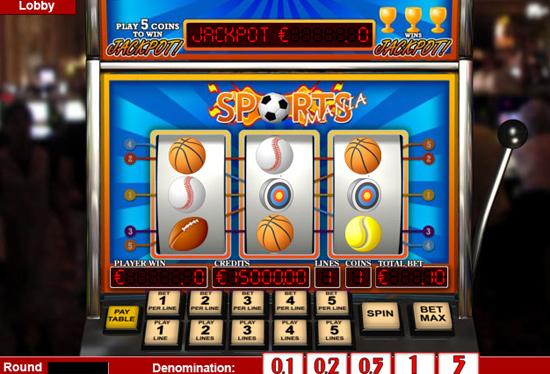 Sports mania - 3-Slots