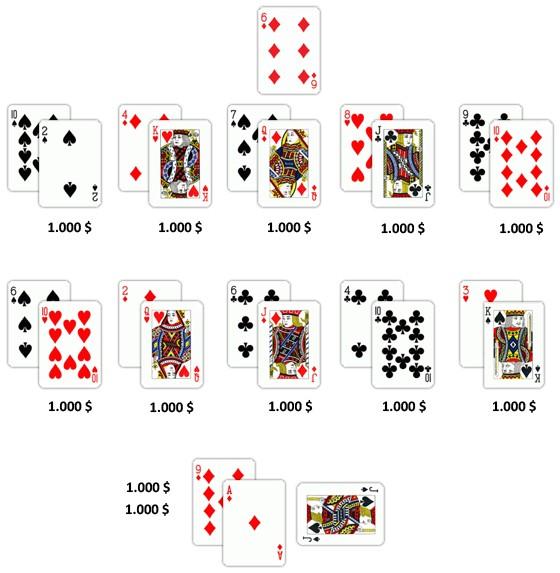 Jedna karta za 17000 $