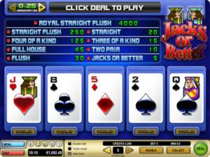 Strategie pro video poker
