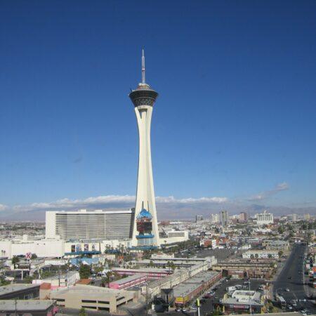 Naštvaný muž najel svou dodávkou do kasina v Las Vegas