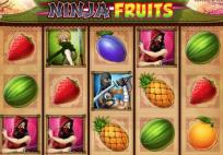 30 volných zatočení na automatu Ninja fruits!