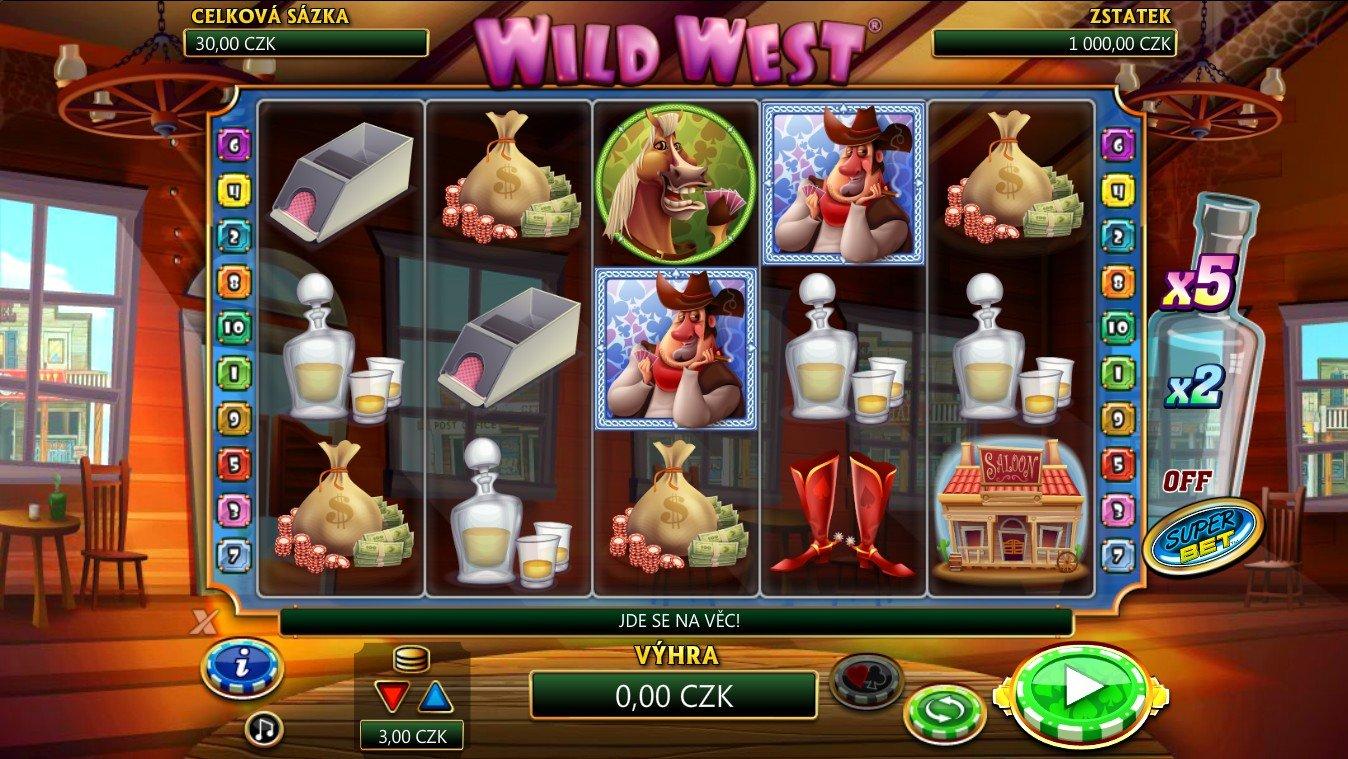 Nový automat Wild West