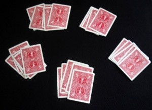 Karetní trik - Royal Flush