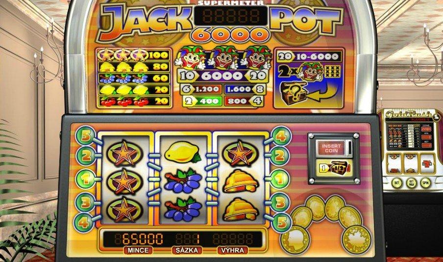 Jackpot 6000 - recenze / hra zdarma