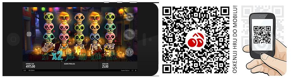 Automat v mobilu - Esqueleto Explosivo