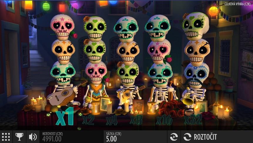 Esqueleto Explosivo - automat
