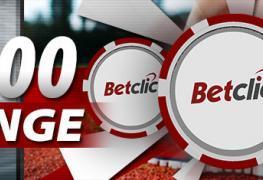 Betclic kasino rozdává 250 000 Kč!