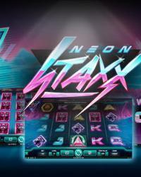 Neon Staxx automat recenze