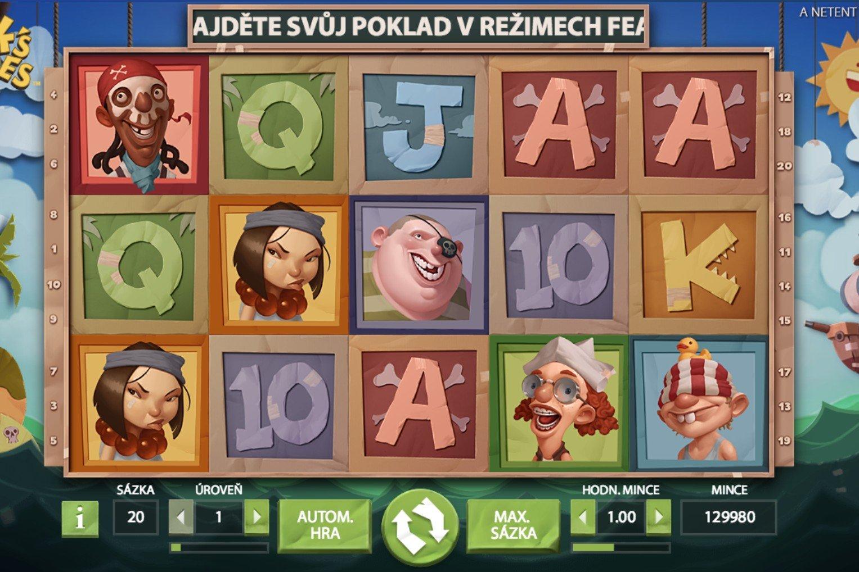 Hook's Heroes screen