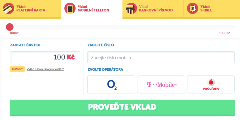 online casino vklad cez sms