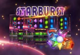50 zatočení na Starburst od LeoVegas v akci Hra týdne!