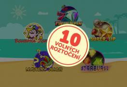 Bohemia Casino: každý letní den volná roztočení pro každého!