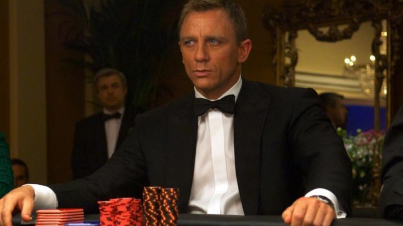 Nejlepší casinové scény z filmů Jamese Bonda
