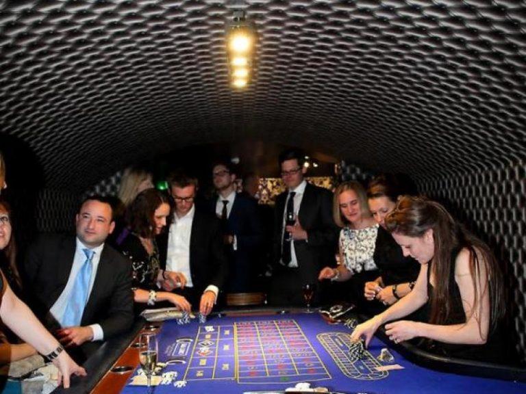 nejmenší kasino v podzemí