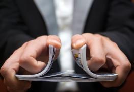 Jak míchají karty profesionálové?