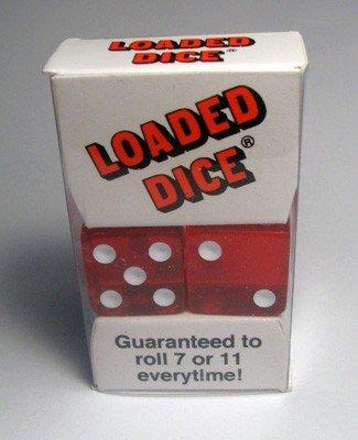 Podvody v kasinu: Nevyvážené kostky