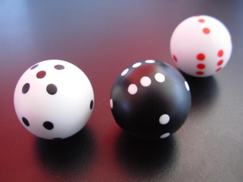 Podvody v kasinu: Posouvání kostek