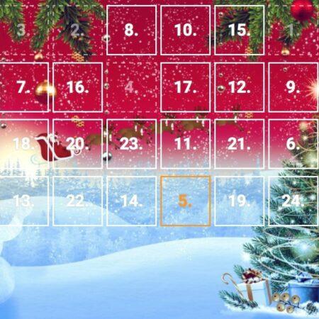 Hromada volných her na automatech v Adventním Kalendáři od Tipsportu a Chance