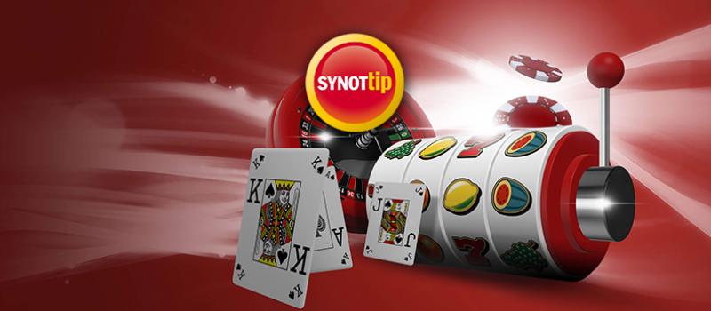 V Synot Tip casino můžete vyzkoušet hrací automaty zdarma