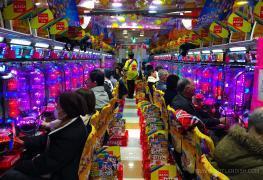Pachinko, japonská obdoba výherních automatů je na ústupu