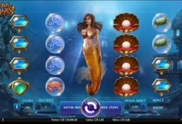 Mořská panna je ústředním motivem výherního automatu Secrets of Atlantis.