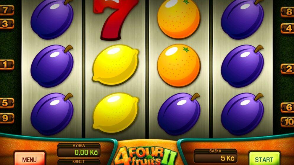Online casina Tipsport, Fortuna a Synot přidávají ovocné automaty