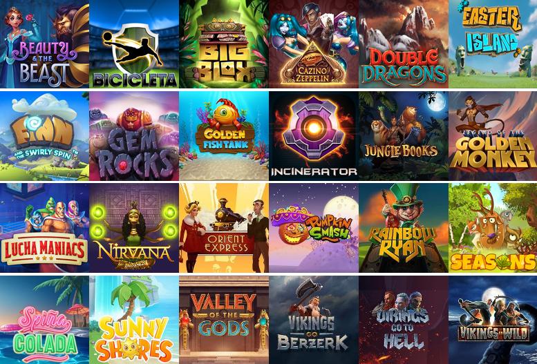 25 nových her z dílny Yggdrasil
