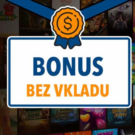 Bonusy bez vkladu v českých online casinech