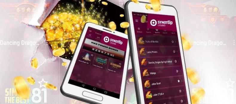 SYNOT TIP lepší appka na ONLINE CASINO