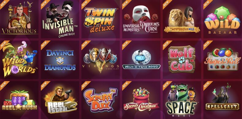 SYNOT TIP přidalo již více jak 100 nových her!
