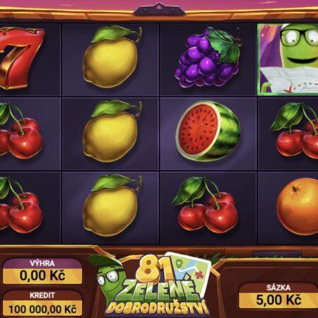 60 volných her na revolučním automatu Zelené dobrodružství 81